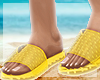 🌊 JELLY Slides Yellow