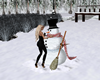 Snowman Hug (Winter)