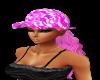 Pink Camo Cap/Hair