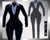 CTG 3 PCE NAVY SUIT FIT