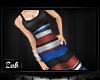 :Z| Striped Dress A