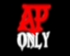 """""""AP Only"""" sign"""