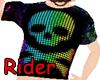 Rainbow Skull Shirt (K)
