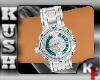 $KF$W/B Diamond watch