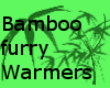 Bamboo Foot Warmers