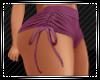 Plum Tied Shorts RL