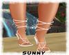 *SW* White Sandals