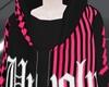 N! Unholy Hoodie - Pink