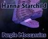 Purple Moccassins