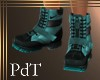 PdT Gnarly Boots Teal M