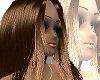Shiny brown Selena hair