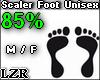 Scaler Foot Unisex 85%