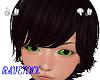 kid  green eyes