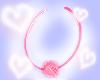 Pink Fur Hoops