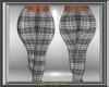 Grey Plaid Jeans