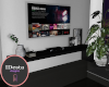 onyx black tv stand