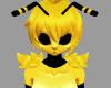 {F} Bee Shoulder Fur V1