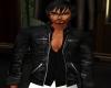 Leather Jacket & Shirt