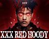 XXXTENTACION RED HOODY
